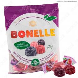 Caramelle Bonelle Le Gelées al Gusto Frutti di Bosco Senza Glutine 100% Vegane - Busta 160g