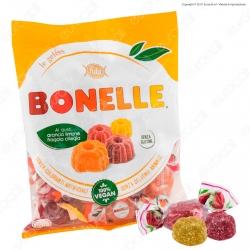 Caramelle Bonelle Le Gelées ai Gusti Frutta Senza Glutine 100% Vegane - Busta 200g