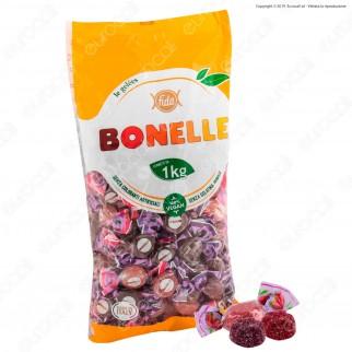 Caramelle Bonelle Le Gelées al Gusto Frutti di Bosco Senza Glutine 100% Vegane - Busta 1000g