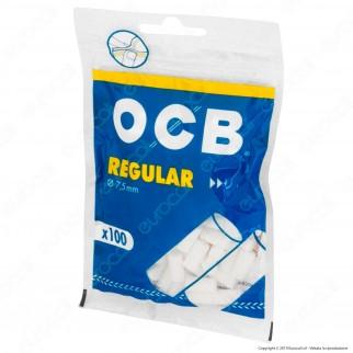 Ocb Regular 7,5mm - Bustina da 100 Filtri