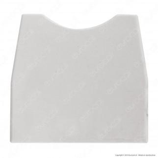 FAI Portalampada Per Lampade Linestra S14d in Plastica - Colore Bianco - mod. 9201