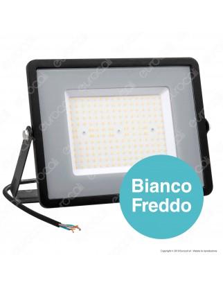 V-Tac PRO VT-106 Faro LED SMD 100W High Lumens Ultrasottile Chip Samsung da Esterno Colore Nero - SKU 766 / 767