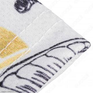 Dud Shisha T-Shirt Manica Corta in Tessuto Traspirante - Fantasia Flower