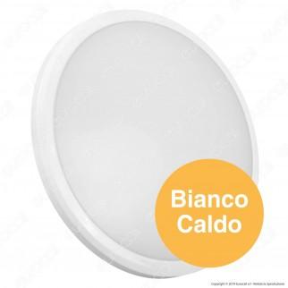V-Tac PRO VT-12S Plafoniera LED 12W Forma Circolare Colore Bianco Chip Samsung - SKU 935 / 936