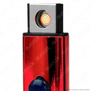 Atomic Accendino USB Ricaricabile Antivento