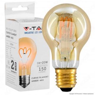 V-Tac VT-2063 Lampadina LED E27 3W