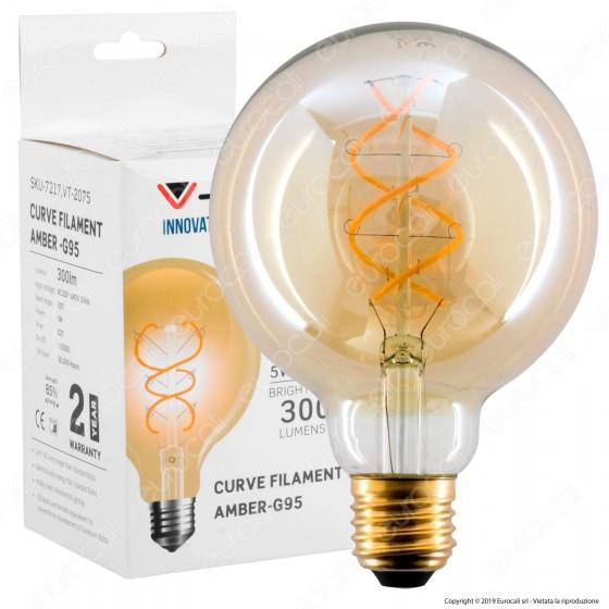 V-Tac VT-2075 Lampadina LED E27 5W