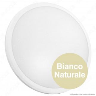 V-Tac PRO VT-12 Plafoniera LED 12W Forma Circolare Colore Bianco Chip Samsung - SKU 820
