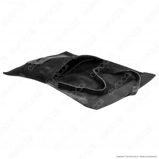 Il Morello Large Portatabacco in Vera Pelle Colore Nero