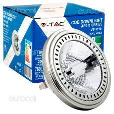 V-Tac VT-1868 Lampadina LED GX53 7W Bulb Disc