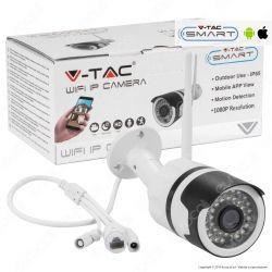 V-Tac VT-5123 Telecamera di Sorveglianza IP Wifi PTZ 1080p - SKU 8441