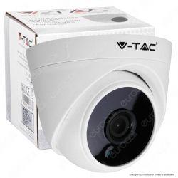 V-Tac VT-5125 Telecamera di Sorveglianza AHD 4 in 1 Analog Camera 1080p - SKU 8474