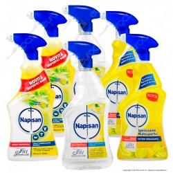 Kit Napisan Spray: Sgrassatore + Igienizzante Superfici + Igienizzante Bagno
