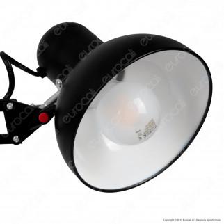V-TAC VT-7513 Lampada da Tavolo Orientabile con Portalampada per Lampadine E27