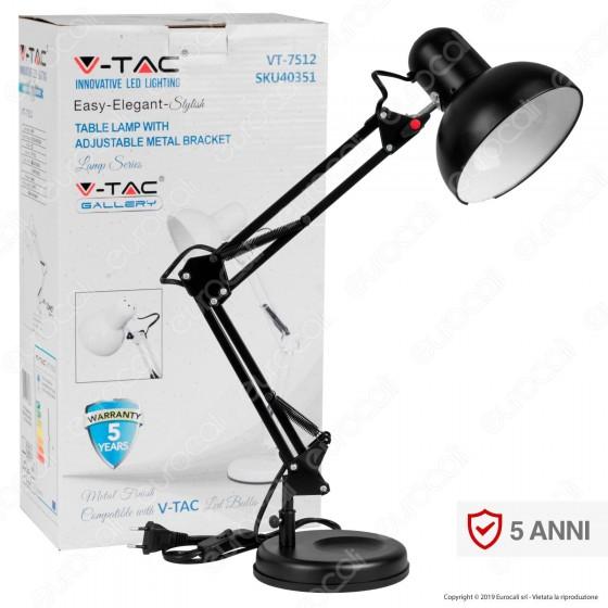 V-TAC VT-7512 Lampada da Tavolo Orientabile