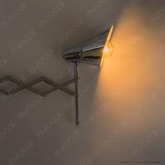 V-Tac VT-7402 Lampada da Muro con Portalampada per Lampadine E27