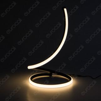 V-TAC VT-7312 Lampada LED da Tavolo da 17W Nera