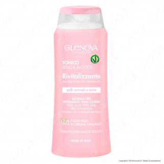 Glenova Cosmetics Tonico Senza Alcool Rivitalizzante con Aloe Vera e Provitamina B5
