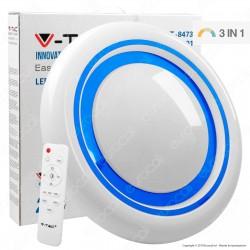 V-Tac VT-8473 Plafoniera LED 65W Forma Circolare Effetto Cielo Stellato