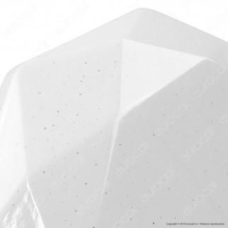 V-Tac VT-8404 Plafoniera LED 40W Forma Circolare Sfaccettata Effetto Cielo Stellato