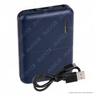 V-Tac VT-3517 Power Bank Portatile 5000 mAh 2 Uscite USB 2A - SKU 8892 / 8893 / 8894 / 8895 / 8896