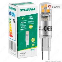 Sylvania Lampadina LED GY6.35 2,4W Tubolare - mod. 26536