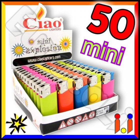 Ciao Mini Fantasia Explosion - Box da 50 Accendini