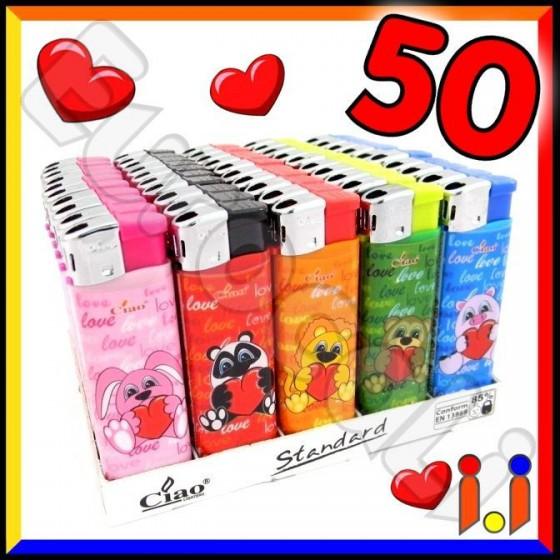Ciao Fantasia Mon Amour - Box da 50 Accendini