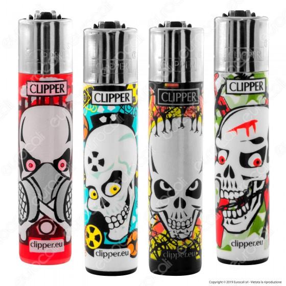 Clipper Large Fantasia Skulls Kill - 4 Accendini