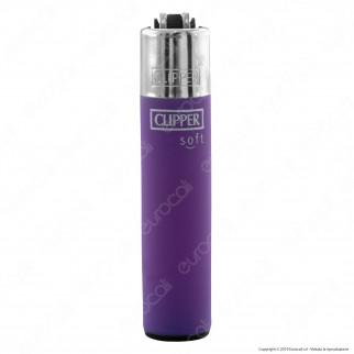 Clipper Micro Fantasia Soft Touch 3 - Box da 48 Accendini