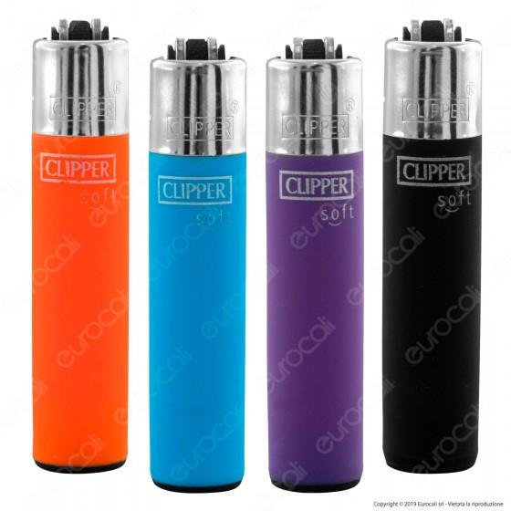 Clipper Micro Fantasia Soft Touch 3 - 4 Accendini