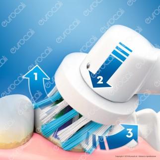 Oral B PRO 700 3D White Spazzolino Elettrico Ricaricabile Braun con Timer