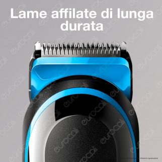 Braun MGK3040 MultiGrooming Kit 7 In 1 Rasoio da Barba Elettrico con Gillette Body