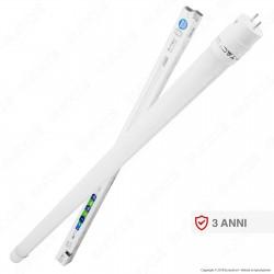 V-Tac VT-6072 SMD Tubo LED Nano Plastic T8 G13 10W Lampadina 600cm - SKU 6392 - 6393 - 6394