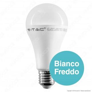 10 Lampadine LED V-Tac VT-2217 E27 17W Bullb A65 CRI ≥95 - Pack Risparmio