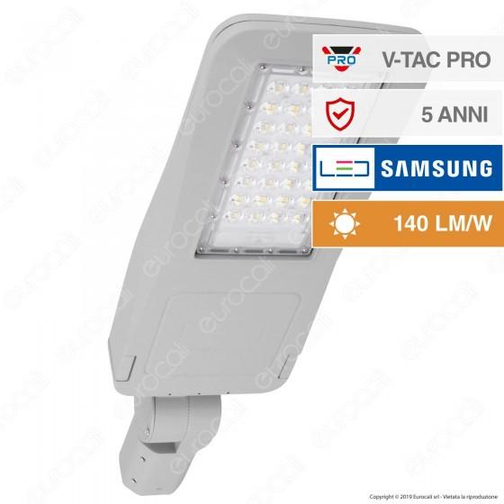 V-Tac PRO VT-53ST Lampada Stradale LED 50W Lampione SMD Chip Samsung Fascio Luminoso Type 3 - SKU 953