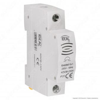 Kanlux KDOB-230V Modulo Campanello Elettrico Presenza Rete per Quadro Elettrico DIN 35 - mod. 23261