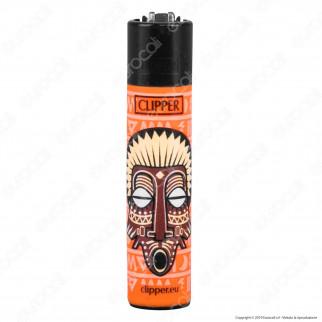 Clipper Large Fantasia African Mask - 4 Accendini