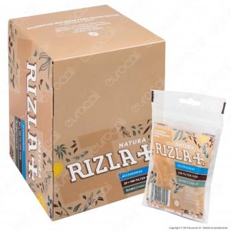 Rizla Natura Slim 6mm Biodegradabili - Box 25 Bustine da 150 Filtri