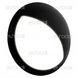 V-Tac VT-8006 Plafoniera LED 12W Forma Circolare con Palpebra Colore Nero