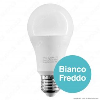 10 Lampadine LED V-Tac VT-2112 E27 11W Bulb A60 - Pack Risparmio