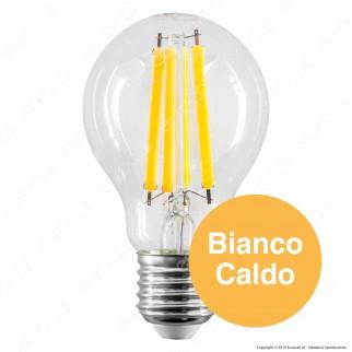 Bot Lighting Shot Lampadina LED E27 10W Bulb A60 Filamento Extra-Lungo - mod. WLD1011X2 / WLD1011X3 / WLD1011X1