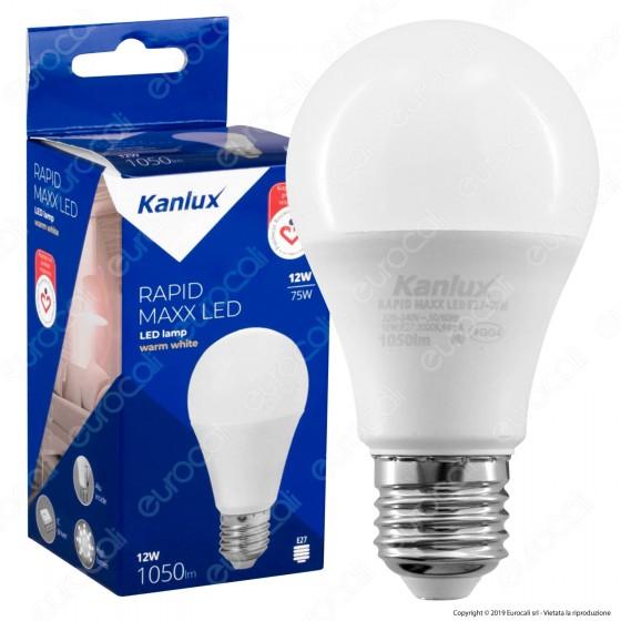 Kanlux RAPID Maxx Lampadina LED E27 12W Bulb A60 - mod.23282 / 23283