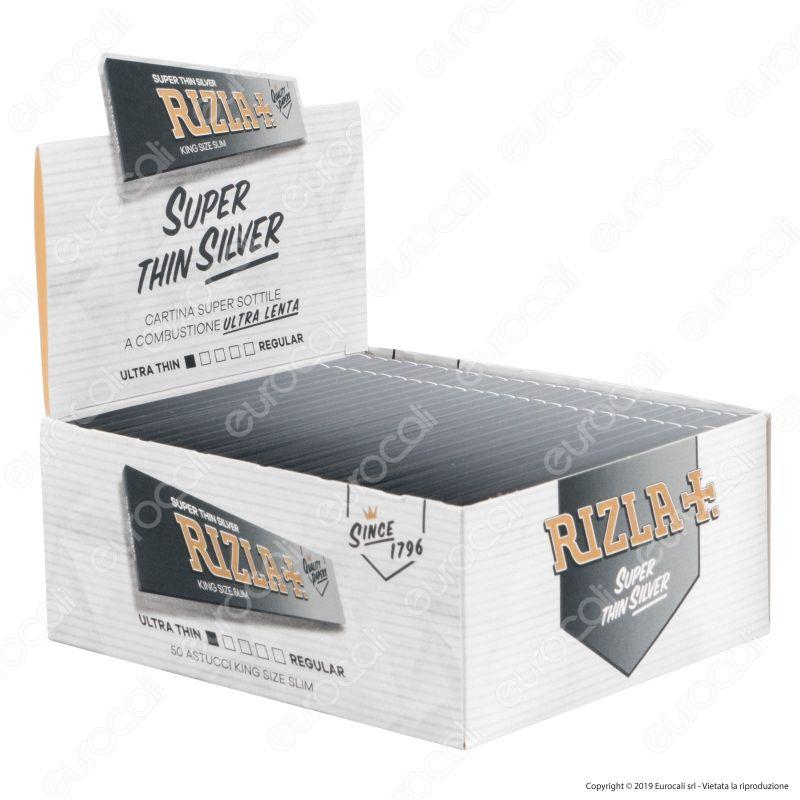 Rizla Argento King Size Slim 50//BX