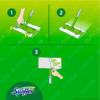 [EBAY] Swiffer Dry XXL Panni Catturapolvere - Confezione da 16 Panni