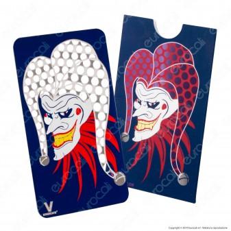 V-Syndicate Grinder Card Joker - Tritatabacco in Metallo Formato Tessera