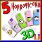 Ciao Mini 3D Fantasia Horroticons - 5 Accendini