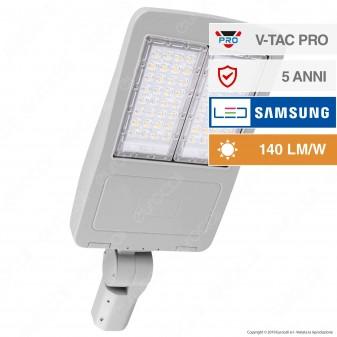 V-Tac PRO VT-102ST Lampada Stradale LED 100W Lampione SMD Chip Samsung Fascio Luminoso Type 3M - SKU 883 / 884