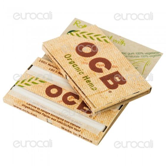 Cartine Ocb Organic Hemp Corte Canapa Biologica - Libretto