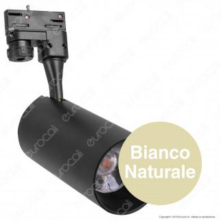 V-Tac PRO VT-430 Track Light LED COB 30W CRI≥90 Colore Nero - SKU 941 / 942